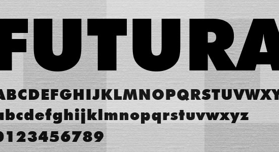 futura font for packaging, packaging fonts