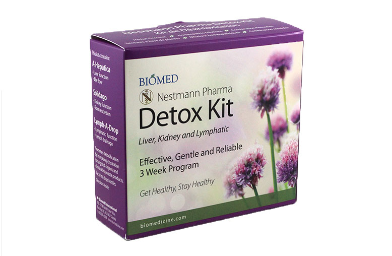 Biomed Detox Kit Die Cut Mailer Box