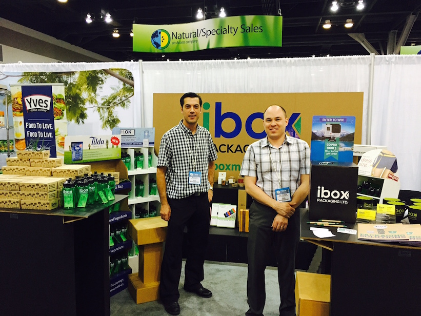 ibox Packaging Trade Show, boxes, displays,