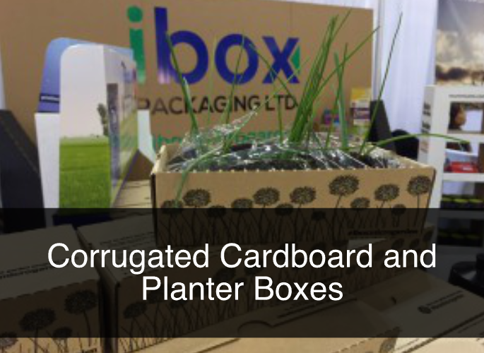 Corrugated Cardboard and Planter Boxes