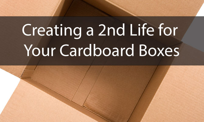Creating a 2nd Life for Your Cardboard Boxes