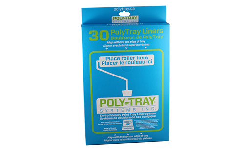 Poly Tray Systems Die Cut Box with Perforations