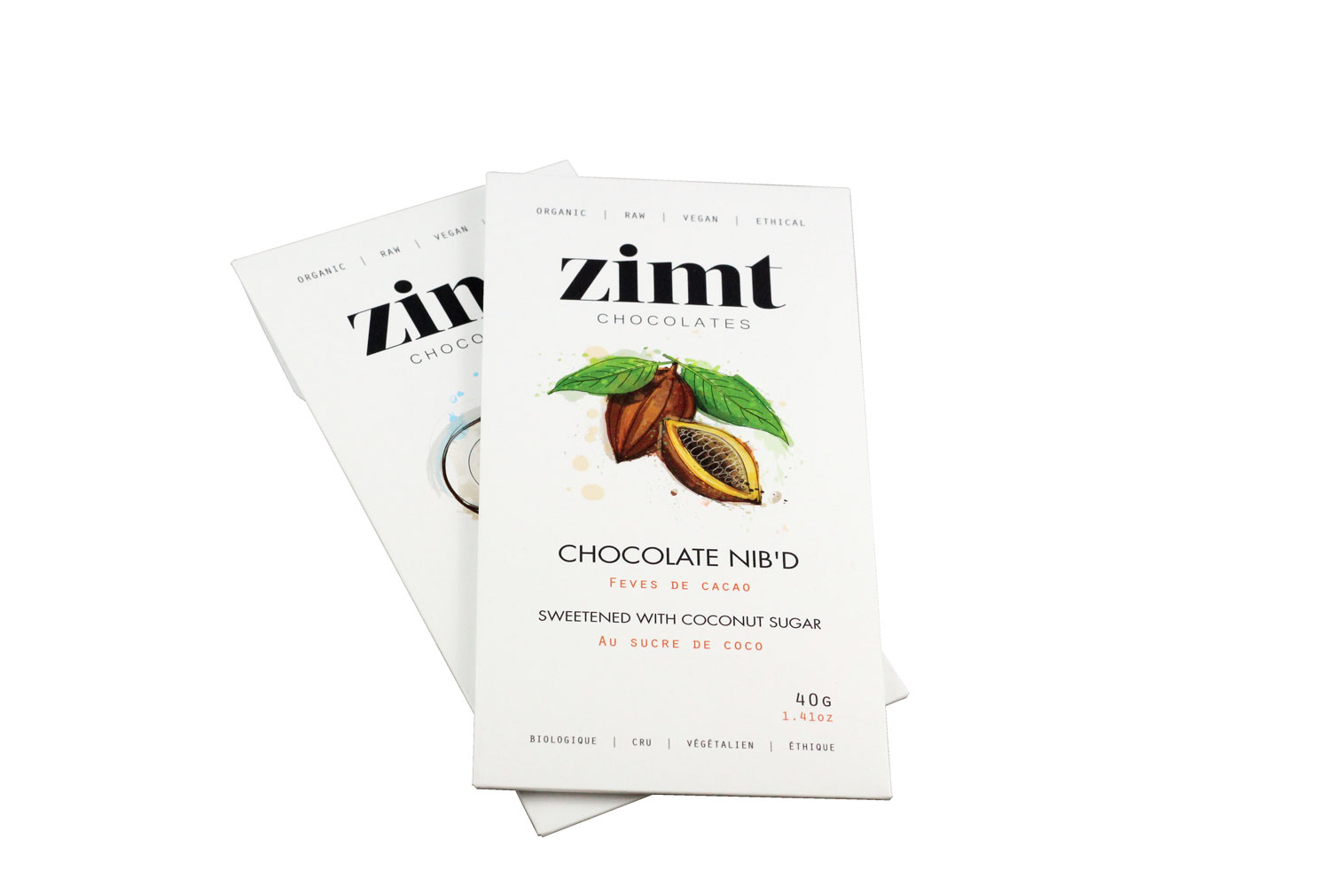 Zimt Chocolates Chocolate Bar Packaging