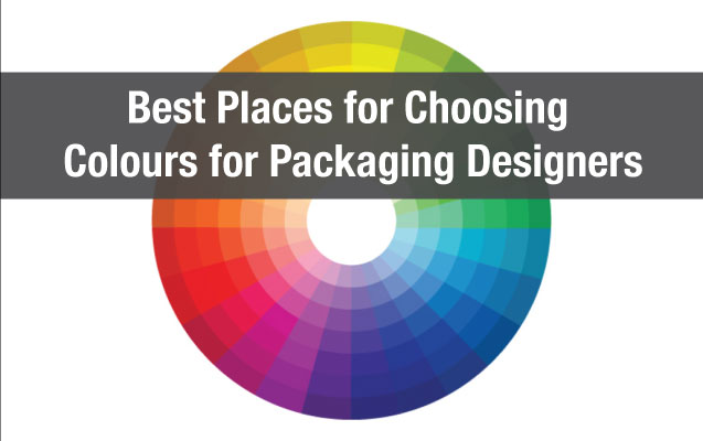 Best Places for Choosing Colours for Packaging Designers