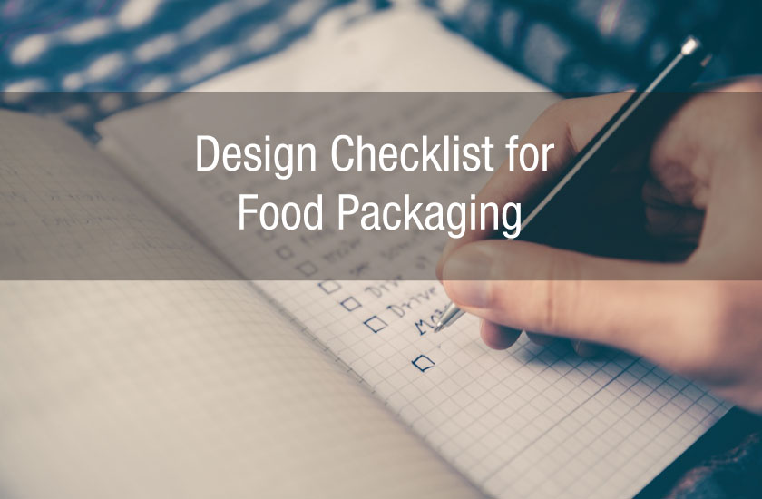 Design Checklist for Food Packaging