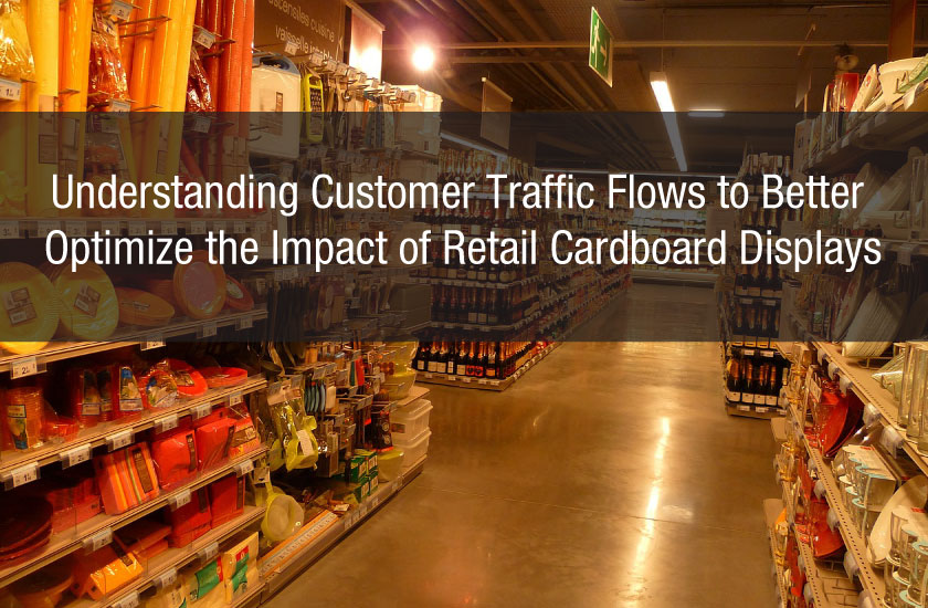 Understanding Customer Traffic Flows to Better Optimize the Impact of Retail Cardboard Displays