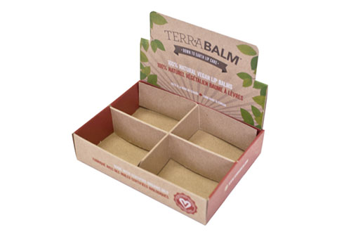 Terrabalm Counter Display