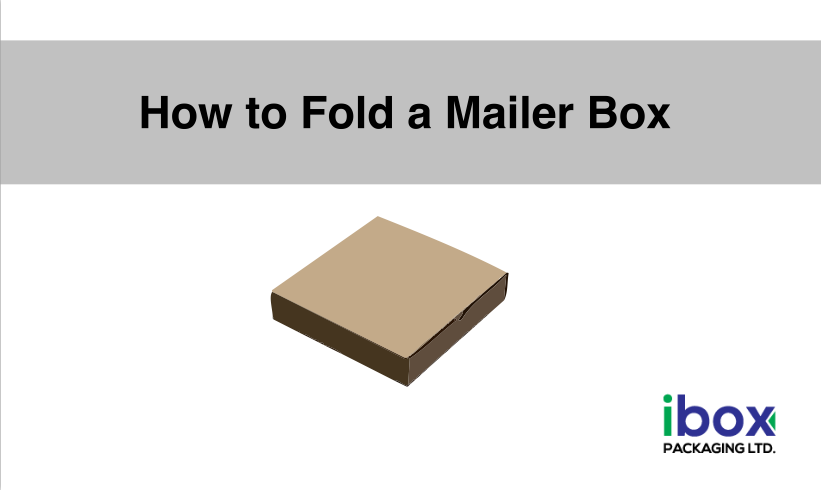 How to Fold a Mailer Box