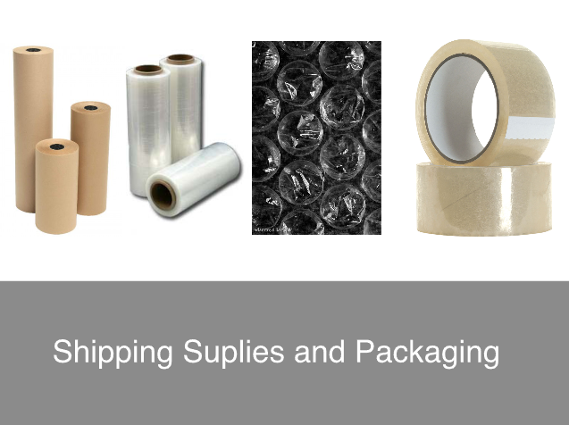 Shipping Supplies and Packaging