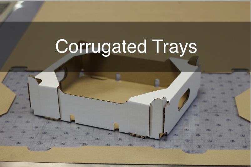 Corrugated Trays