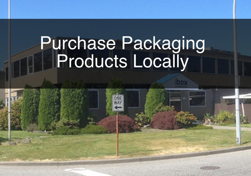 Purchase Packaging Products Locally