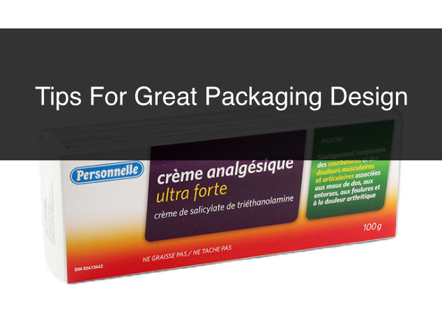 Tips For Great Packaging Design