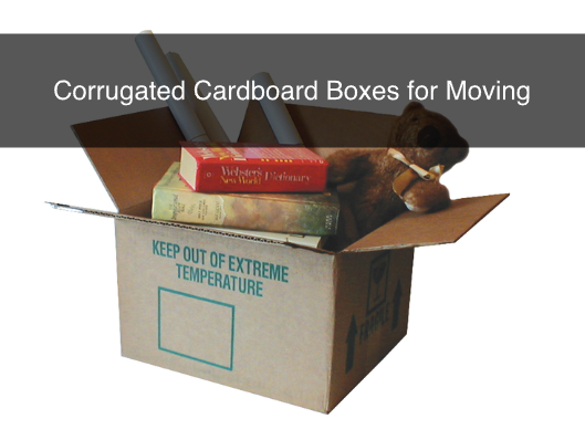 Corrugated Cardboard Boxes for Moving