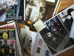 magazine-pile