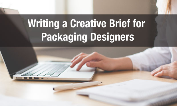 Writing a Creative Brief for Packaging Designers