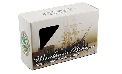 Sea Wench Naturals Retail Soap Box with Die Cut Window