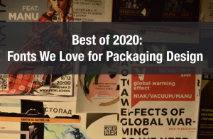 Best of 2020 – Fonts We Love for Packaging Design