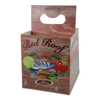 Red Roof Cider Custom Bottle Carrier