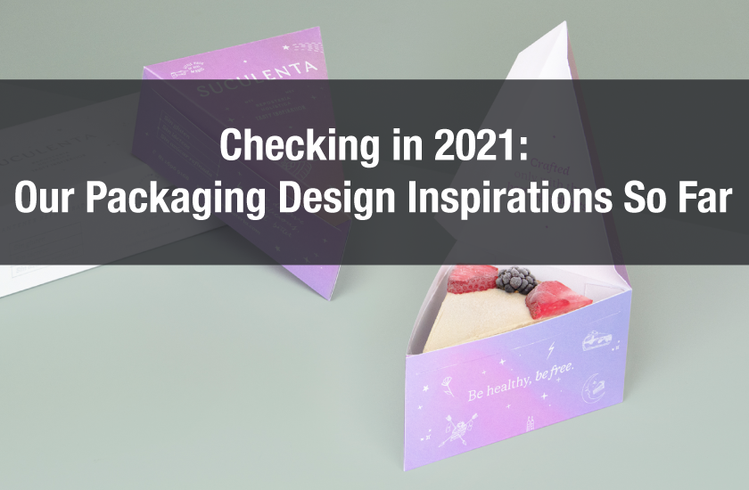 Checking in 2021: Our Favourite Packaging Design Inspiration So Far